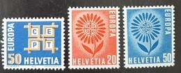 SUISSE    Europa 1963 Et 1964    N° Y&T  716, 735 Et 736  ** - Svizzera