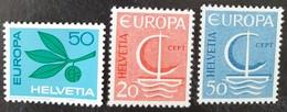 SUISSE    Europa 1965 Et 1966    N° Y&T  758, 776 Et 777  ** - Svizzera