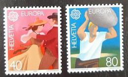 SUISSE    Europa 1981    N° Y&T  1126 Et 1127  ** - Svizzera