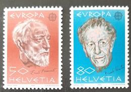 SUISSE    Europa 1985    N° Y&T  1223 Et 1224  ** - Svizzera