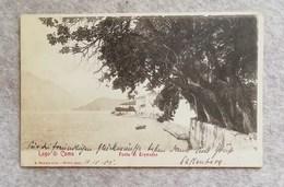 Cartolina Postale Italiana Lago Di Como - Punta Di Tremezzo, Per La Germania 1905 - Como