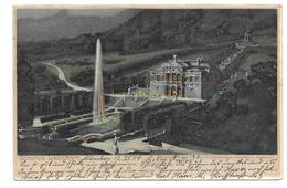 8107 KÜNSTLER LITHO  ZENO DIEMER   -  SCHLOSS LINDERHOF  1899      VERLAG O. ZIEHER Nr. 1441 - Andere