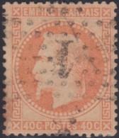 France   .     Yvert    .    31       .      O      .       Oblitéré   .   /   .   Cancelled - 1863-1870 Napoléon III Lauré