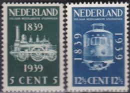 Pays-Bas    .     Yvert    .    325/326        .      **      .      Neuf SANS Charniere     .   /   .  MNH - 1891-1948 (Wilhelmine)