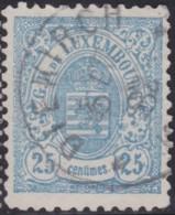 Luxembourg  .     Yvert    .   45     .      O    .      Oblitéré     .   /   .   Gebraucht - 1859-1880 Armoiries
