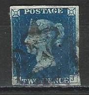 GB SG 5, Mi 2 O Used Backside Repaired / Thin - 1840-1901 (Victoria)
