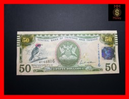 TRINIDAD & TOBAGO 50 $ 2006  P 50  Tactile Lines For Blind  UNC - Trinidad & Tobago