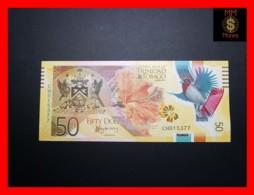 TRINIDAD & TOBAGO 50 $ 2015 P. 59 Polymer  UNC - Trinidad & Tobago