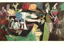 Art - Peinture - Pablo Picasso - La Pêche Nocturne Près D'Antibes - Nâchtlicher Flschfang Bei Antibes - Fishing By Night - Paintings
