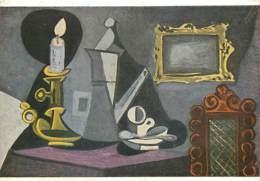 Art - Peinture - Pablo Picasso - Nature Morte à La Bougie - Still Life By Candle-light - Carte Neuve - CPM - Voir Scans - Paintings