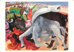 Art - Peinture - Pablo Picasso - Corrida : La Mort Du Torero - Carte Neuve - CPM - Voir Scans Recto-Verso - Paintings
