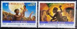 NATIONS-UNIS  GENEVE                  N° 321/322                      NEUF** - Unused Stamps
