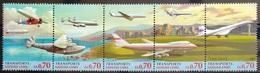 NATIONS-UNIS  GENEVE                  N° 333/337                      NEUF** - Unused Stamps