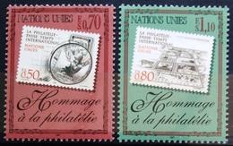 NATIONS-UNIS  GENEVE                  N° 338/339                      NEUF** - Unused Stamps
