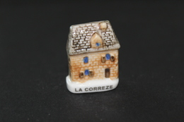 Fève De La Série FACADES TYPIQUES - La Corrèze - Arguydal 2003 - (Réf. 009) - Regiones
