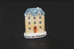 Fève De La Série FACADES TYPIQUES - L'Ile De France - Arguydal 2003 - (Réf. 009) - Regiones