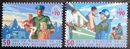 NATIONS-UNIS  GENEVE                  N° 366/367                      NEUF** - Unused Stamps