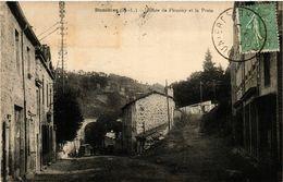 CPA Dunieres (H.-L.) - Route De Firminy Et La Poste (586153) - Altri Comuni