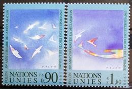NATIONS-UNIS  GENEVE                  N° 368/369                      NEUF** - Unused Stamps