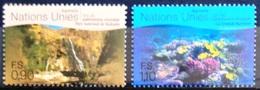 NATIONS-UNIS  GENEVE                  N° 379/380                      NEUF** - Unused Stamps