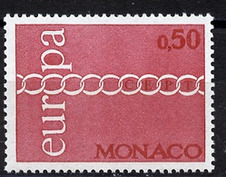 Europa CEPT 1971 Monaco Y&T N°863 - Michel N°1014 *** - 50c EUROPA - 1971