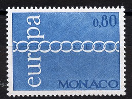 Europa CEPT 1971 Monaco Y&T N°864 - Michel N°1015 *** - 80c EUROPA - 1971