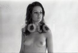 1970 ART FRAU SEXY EROTIC EROTIQUE EROTIK FEMME NU NUE SEMI NUDE NAKED WOMAN 35mm NEGATIVE NOT PHOTO NO FOTO BILD - Beauté Féminine (1941-1960)