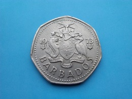BARBADES   -  1 Dollar  1973  -  Barbados - Barbades