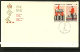 Canada 1976 FDC - 1952-.... Règne D'Elizabeth II