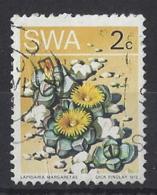 "SOUTH WEST AFRICA.....QUEEN ELIZABETH II.(1952-NOW).."" 1973..""...2c......SG258.........VFU. - Cactusses"