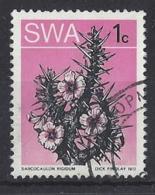 "SOUTH WEST AFRICA.....QUEEN ELIZABETH II.(1952-NOW).."" 1973..""...1c......SG257.........VFU. - Cactusses"
