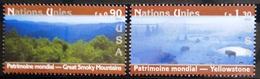 NATIONS-UNIS  GENEVE                  N° 486/487                      NEUF** - Nuevos