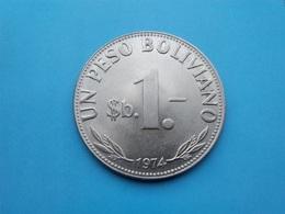 BOLIVIE   -  1  Peso  1974  --Sup--   Bolivia - Bolivia