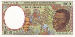 East African States - Afrique Centrale Centrafrique 1999 Billet 1000 Francs Pick 302 F Neuf UNC - Zentralafrik. Rep.