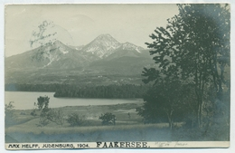 +++3379 Faakersee, Verlag Helff, 1904  +++ - Faakersee-Orte