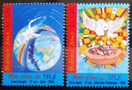 NATIONS-UNIS  GENEVE                  N° 562/563                      NEUF** - Nuevos