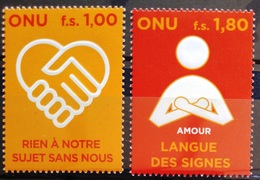 NATIONS-UNIS  GENEVE                  N° 610/611                      NEUF** - Nuevos