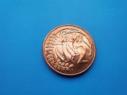 NOUVELLE ZÉLANDE   -  2  Cents  1985   -- SPL --   New Zealand  -- - Nueva Zelanda