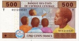 East African States - Afrique Centrale Congo 2002 Billet 500 Francs Pick 106 Neuf UNC - República Del Congo (Congo Brazzaville)