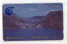 SAINTE-HELENE  Ref MV CARDS STH-03 5£ JAMESTOWN HARBOUR 2 4000 Ex.CN :1CSHC - Sainte-Hélène