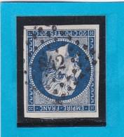 N° 14 A  -  PC 842  CHERBOURG  ( 48 )  MANCHE    - REF 1447 - 1853-1860 Napoleon III