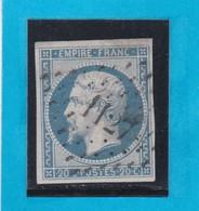 N° 14 A  -  PC 1127  DOUAI ( 57 )  NORD    - REF 1447 + Variété - 1853-1860 Napoleon III