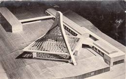 39 DOLE Maquette De L'église Saint-Jean De Dole 1960 Projet Architectes Retenus - Dole
