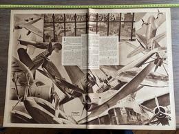 1936 M SALON DE L AVIATION DANS LES STANDS DU GRAND PALAIS - Non Classificati