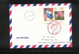 Japan 1998 Olympic Games Nagano Interesting Airmail Letter - Winter 1998: Nagano