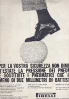 (pagine-pages)PUBBLICITA' PIRELLI   Oggi1960/29. - Other