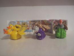 Kinder Surprise Deutch 2001/2002 :Série Spielzeug Mit Flügeln + 3 BPZ - Steckfiguren
