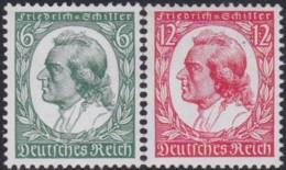 Deutsches Reich   .    Michel   .   554/555     .     **     .      Postfrisch   .   /   .   MNH - Unused Stamps