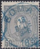 Congo    .    OBP   .    10      .    O     .     Gebruikt   .   /   .  Oblitéré - Congo Belga