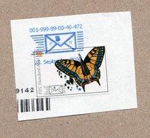 BRD - Privatpost -  PIN AG - Marke: Schmetterling Butterfly - Schwalbenschwanz - Papillons